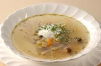 "Pickles and mushroom soup ""RASSOLNIK"""