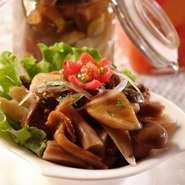 Pickled mushroom