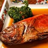 沼津港直送の魚をじっくりコトコト調味した『煮魚定食』