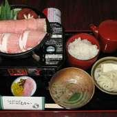 豚ちゃんすき鍋膳