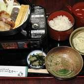 鶏のすき鍋膳