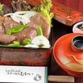 松坂牛(三重県産)むかいの牛重/特上牛重