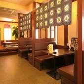 ランチからディナー、そして宴会まで使い勝手が良い中華料理店。