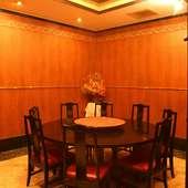 円卓を囲んでのご宴会もOK!12名様までの完全個室です