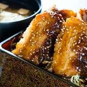ソースかつ丼(ロースまたはヒレ)