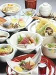 「特選会席」コース / 「お肉と天ぷら」コース