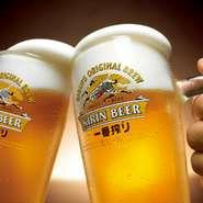 生ビール(キリン一番搾り)