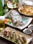 焼鳥や刺身・一品料理など美味しい料理をご用意しています。
