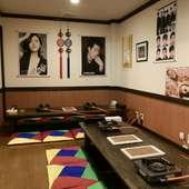 アニョハセヨ‼️韓国料理で歓送迎会(水晶焼サムギョプサル+鍋)