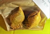 中にはマッシュポテト、豆、人参、玉ねぎ、手作りの皮で包んで揚げています!ベジタリアンの方にも人気のメニューです!