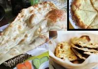 とろけるチーズナン、新鮮なバター100%のバターナン、カシューナッツ・ドライフルーツ・新鮮なリンゴをペースト状にして入れるカシミーリナンは少し甘くて、スイーツとしても◎