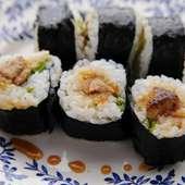 名物 フォアグラの巻き寿司