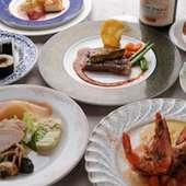 ディナーメニューは3000円~ご用意しております。
