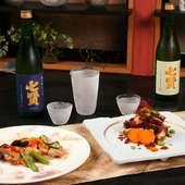 すっきりとフルーティー、お料理に合わせたこだわりの日本酒