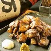 【タベルバ】名物の南薩摩鶏の豪快火柱焼きがお勧め☆