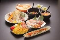 コース料理は2500円からご用意 お気軽にご相談下さい