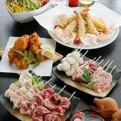 コース料理は値段に応じてできます。気軽に相談して下さい。