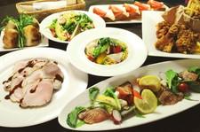 これぞSOLVIVAプレミアム☆自慢のお野菜に加え、天然の赤海老やイベリコ豚も楽しめる贅沢プラン