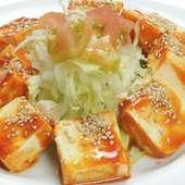 韓国風豆腐サラダ 472円