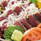 四季彩々、活けの味を豪快に、繊細におもてなし!