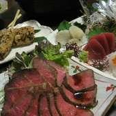 お料理コース2000円~!予算にも応じます。