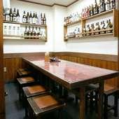 座敷と個室とテーブル席両方をご用意しております