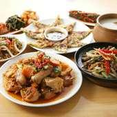 ボリューム満点!! 本場の韓国料理を思う存分楽しんで