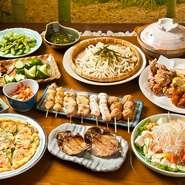 ちょうちん村では3200円(税込み)で宴会を承っております。宴会部屋にはカラオケがあり、飲んで歌って楽しい女子会を開きませんか?お問い合わせお待ちしております。