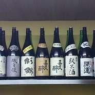 当店が厳選した県内地酒になります。