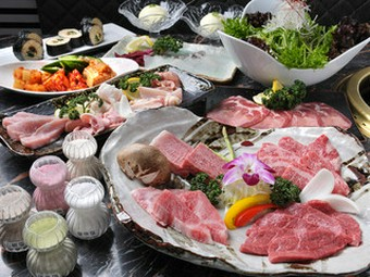 高品質なお肉を堪能できる、ボリュームたっぷりのコース!特別な日のお祝いや、大切なおもてなしやデートに