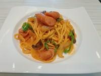 バルサミコとトマトピューレをベースに トマト、アボカド