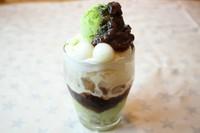 フレンチトーストをアレンジ (フルーツ・バニラアイス)