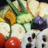 シンプルにグリルするだけで野菜はこんなに美味しくなるんです。