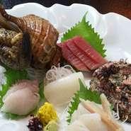 日本海岸や県内でとれた旬の新鮮な魚をご堪能下さい!!