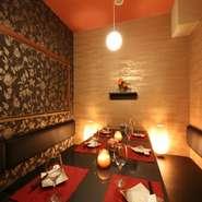 合コンにピッタリなスタイリッシュ個室は雰囲気抜群。早目のご予約をおススメします!