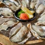 播磨灘産の一年牡蠣を使用しております