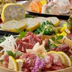 磯っこ名物の播磨灘産の牡蠣をふんだんに使用した絶品コース。