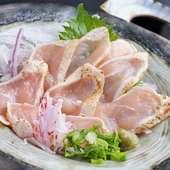 宮崎赤鶏たたき