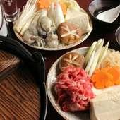 """やっぱり冬は""""鍋"""" 多くの鍋種からも選べます!"""