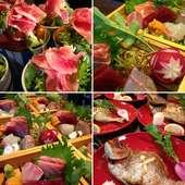 厳選した食材をふんだんに使い とにかく美味しい料理を提供致します。 2名様から要予約
