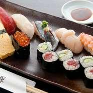 昔ながらの江戸前寿司が食べられるお店