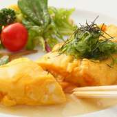 魚介も野菜も、旬の美味しさを大切に見極める
