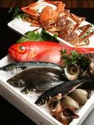 鮮度の良く、大振りな魚がいつでも食べられる