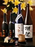 レアな日本酒も多数
