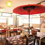 平成29年1月1日より【お茶とお食事処 森山】(旧 町家カフェ鎌倉 飯塚店)がリニューアルOPENしました。 自慢の『わらびもち』や『オムライス』・『ハンバーグ』など美味しい料理・スイーツをご用意しています。