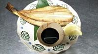 サゴシに続いて、お魚第2弾! シマホッケです! 定食でもご注文頂けます♪