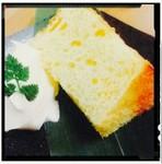 ふわふわ~もちもち~ 森山オリジナルのシフォンケーキをどうぞ★