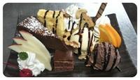 みんな大好き!!チョコレート。 そんな、チョコたちを集めたデザートです★