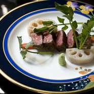 唯一個人名のブランドである「のざき牛」、厳選した「鹿児島牛」を極上のステーキに仕立てました。