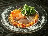 南欧テイストでいただく旬の鮮魚『地中海の刺身盛り合わせ』